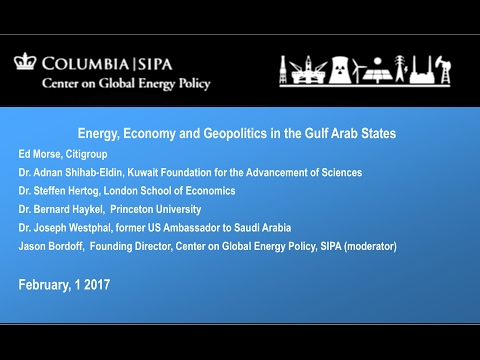 Energy, Economy and Geopolitics in the Gulf Arab States