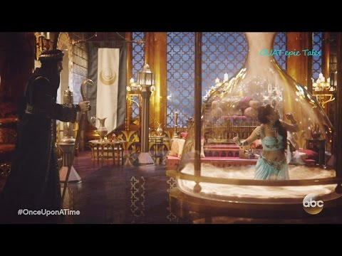 Once Upon A Time 6x05 Aladdin Saves Jasmine from Jafar