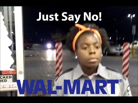 Say NO to Walmart receipt checkers! Evendale, Ohio