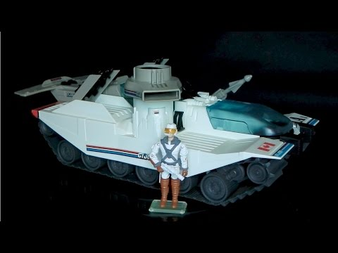 1990 Avalanche (Snow Tank) & Cold Front G.I. Joe review