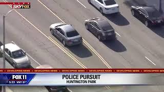 Part 1: Police pursuit of domestic violence suspect through Los Angeles