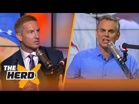 Joel Klatt & Colin Cowherd react to the College Football Playoff rankings after Week 13 | THE HERD