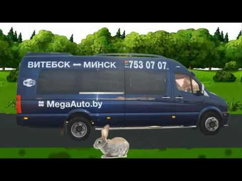 Маршрутки Минск-Витебск-Минск