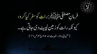 Best Collection Of Hadees about Life | Hazrat Muhammad S.A.W Quotes in Urdu