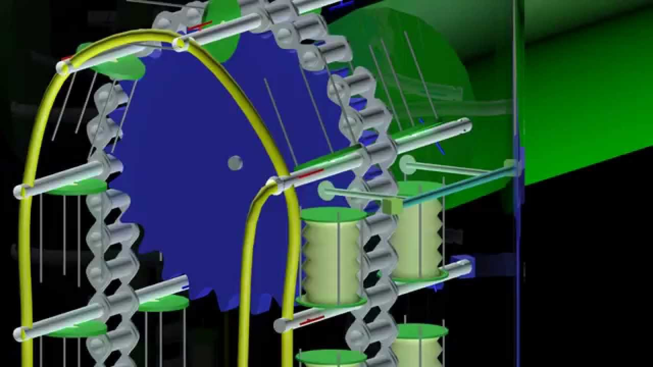 Populares Gerador de energia elétrica por empuxo - YouTube BL56