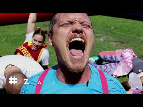 Zando Cape Town 10s Dodgeball Movie