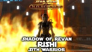 SWTOR - Shadow Of Revan Part 1 - Sith Warrior - Rishi