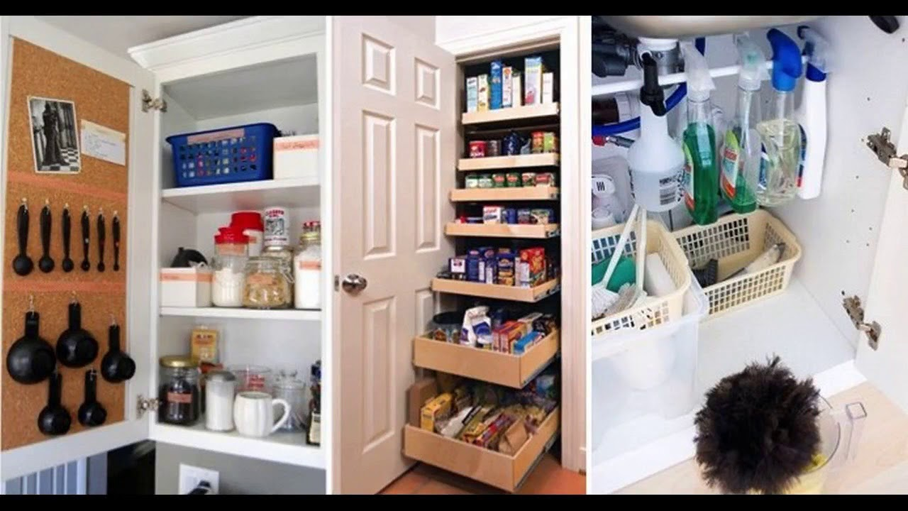 Top 40 Creative Kitchen Storage Ideas Tour 2018 Diy Cabinet Organization Tips Container Solutions