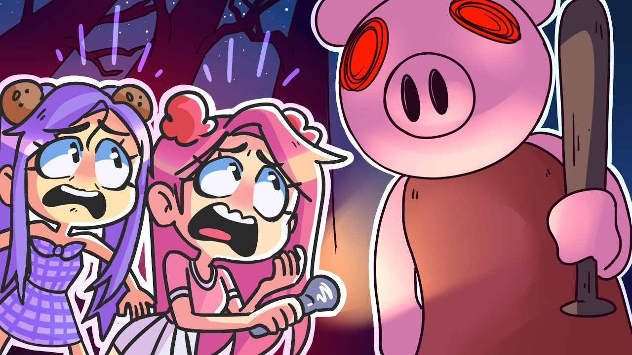 Don't Let Roblox Piggy Find You in this Haunted Forest...