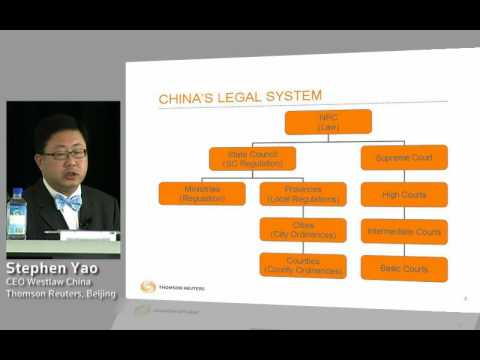 An Overview of the Chinese Legal System and Structure