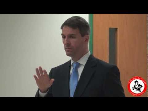 Virginia AG Ken Cuccinelli Addresses the GMU Gun Case Contro