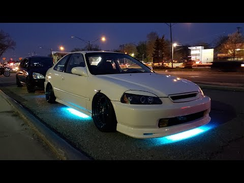 Putting Underglow on my Civic