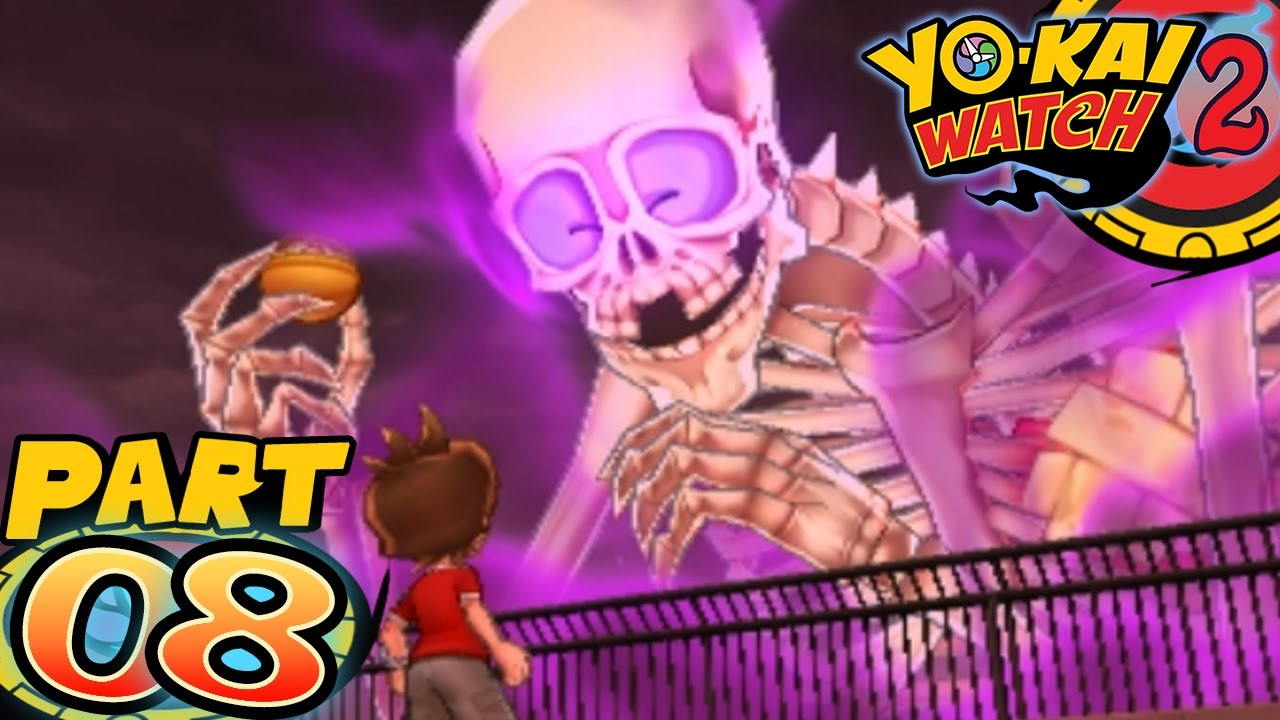 Yo-Kai Watch 2 Bony Spirits and Fleshy Souls - Part 8 - Gutsy Bones