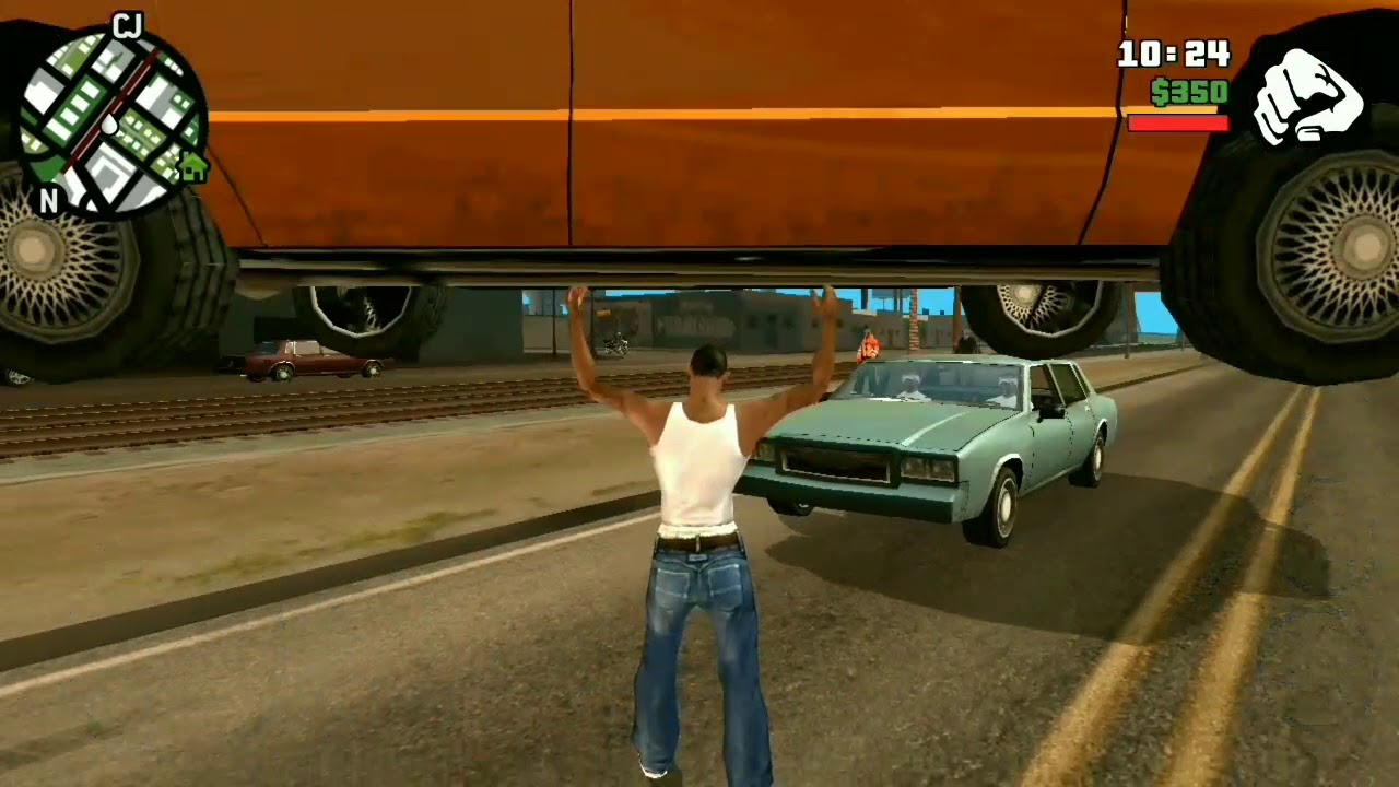 super cj mod grand theft auto san andreas on android