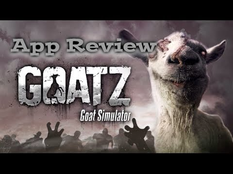 Goat Simulator GoatZ: First Look/Review (iOS Gameplay ...