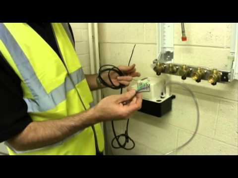hqdefault how to install a condensate pump youtube little giant pump wiring diagram at readyjetset.co