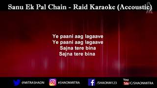 Sanu Ek Pal Chain - Raid Piano karaoke [FREE DOWNLOAD]
