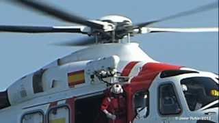 Rescate Maritimo  con Helicoptero (Simulacro) [HD]