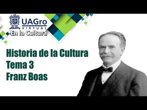 Historia de la Cultura - Tema 3 - Franz Boas