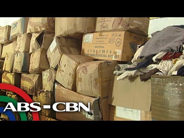 Bandila: P1.5 milyong halaga ng ukay-ukay, sinira ng Customs