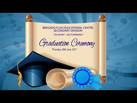 Bregado Flax Educational Centre Graduation Ceremony