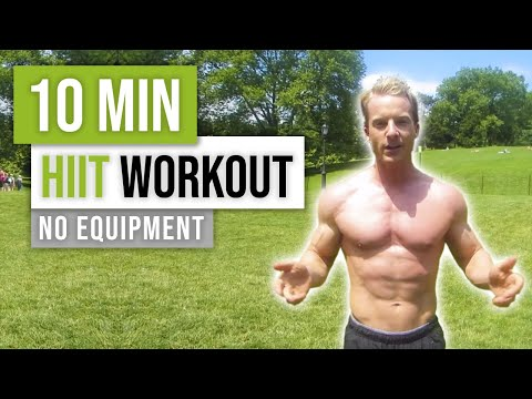10 Minute Bodyweight Fat Torching HIIT Workout