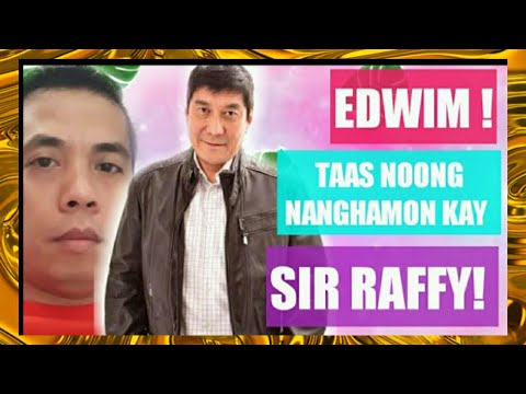 EDWIN MADREDIO HINAMON UMANO SI RAFFYTULFO | Reaction Video