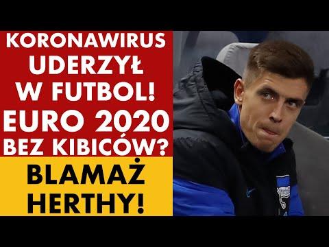 ODWOŁANE MECZE W SERIE A! CZY WIRUS UDERZY W EURO 2020?  KOMPROMITACJA HERTHY!