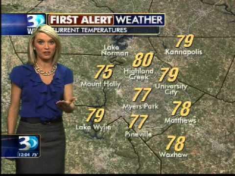 Katie Garner WBTV Weather Forecast 7