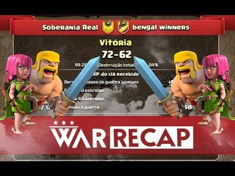 War Recap 9v9 - Soberania Real vs Bengal Winners