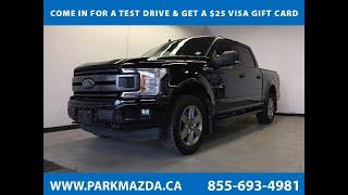 BLACK 2018 Ford F-150  Review Sherwood Park Alberta - Park Mazda