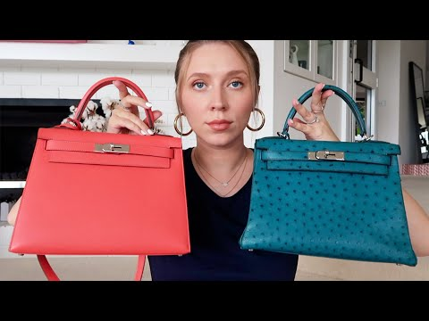 HERMES KELLY Retourne vs Sellier 👜 Which should you buy?! 🧐 Luxury bag review.