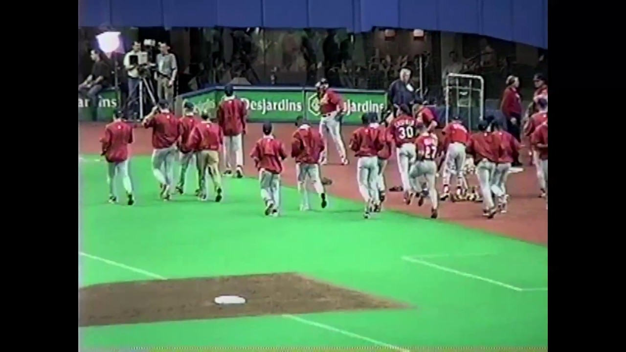 Expos - Cardinals Raw Footage  5-1-99