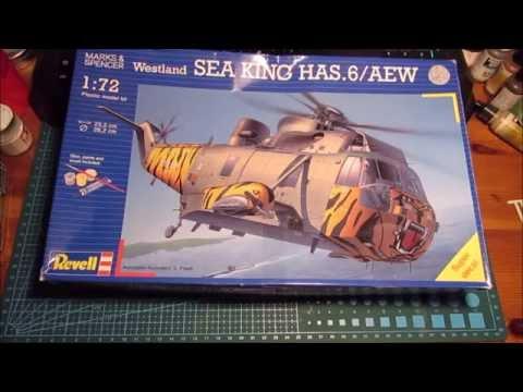 Revell 1/72 Westland Sea King pt. 1