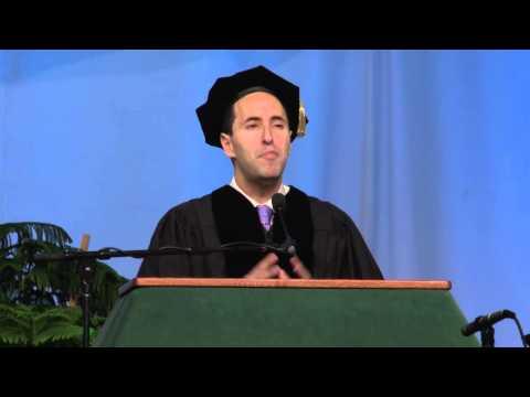 Binghamton University Commencement Fall  - David Berkowitz - Be a Maker