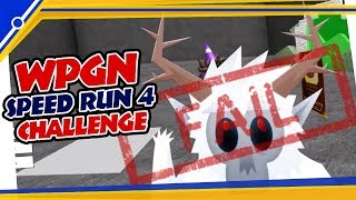 Roblox WPGN Speed Run Challenge 2018 , Response by Tio BloxFam [1st Video Edit]