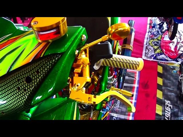 Mewah ! Kontes Modifikasi Vario 125 cc Street Racing Drag Bike Style