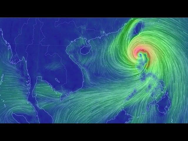 Dự báo thời tiết 15/9: Tin siêu bão gần biển Đông(siêu bão Mangkhut)