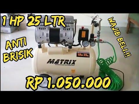 UNBOXING Kompresor Listrik MATRIX 1 HP harga murah barang mewah