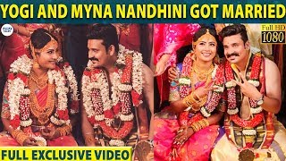 Myna Nandhini and Yogi's Full HD Marriage Video | Yogi-Myna | LittleTalks