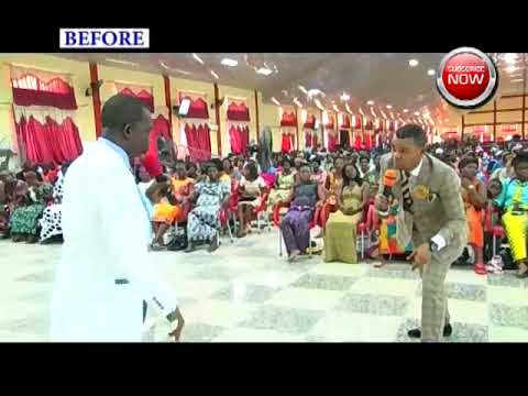 ANGEL OBINIM COMMANDED ANGELIC COIN AND APPEARED PHYSICAL IN CHURCH