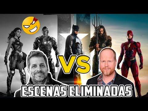 Escenas eliminadas de LIGA DE LA JUSTICIA (Snyder vs Whedon) | @LordMefe