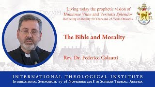 ITI International Symposium - Rev. Dr. Federico Colautti (10/16)