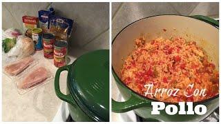 RECIPE | Arroz Con Pollo | One Pot & Easy!