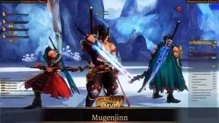 Kritika Online [SEA] Demon Blade Level 55 Party Dungeon Gameplay