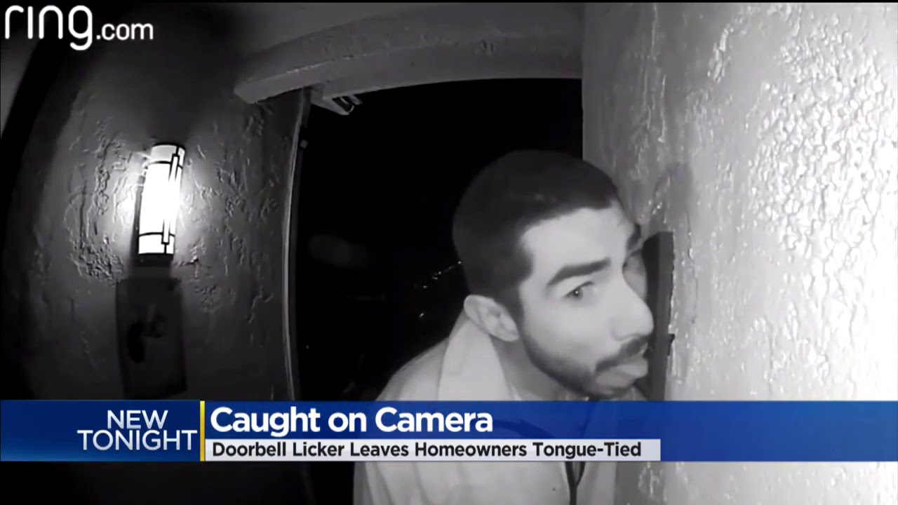 Man Reportedly Spent 3 Hours Licking A Doorbell At A California Home