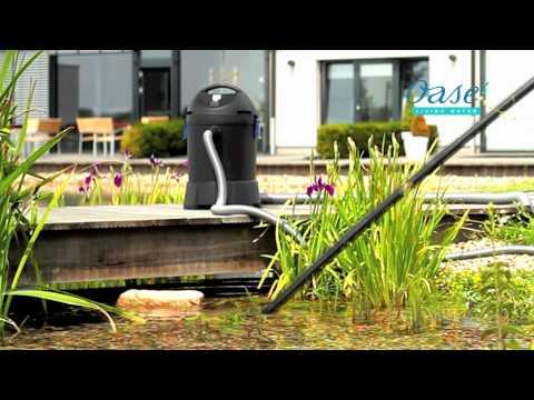 Aspirateur de bassin oase pr sent par for Aspirateur piscine youtube