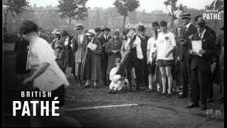 Britain's Finest Women Athletes (1922)