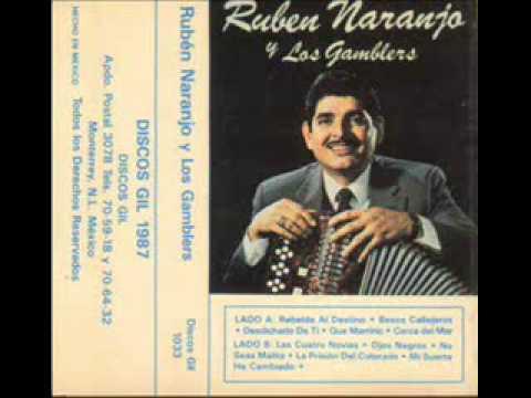 Ruben  Naranjo y  Los  Gamblers - Besos Callejeros
