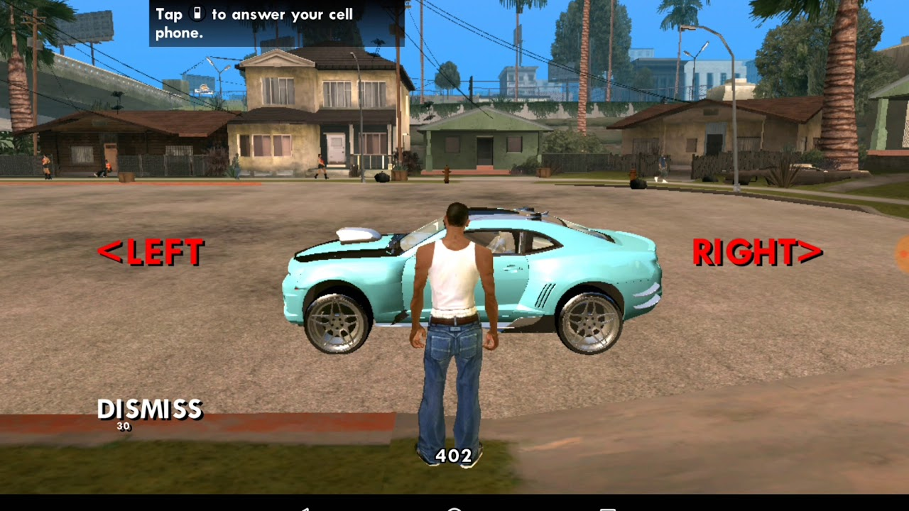 Gta Sa Android Vehicles Pack Dff Only 13 Vehicles Youtube